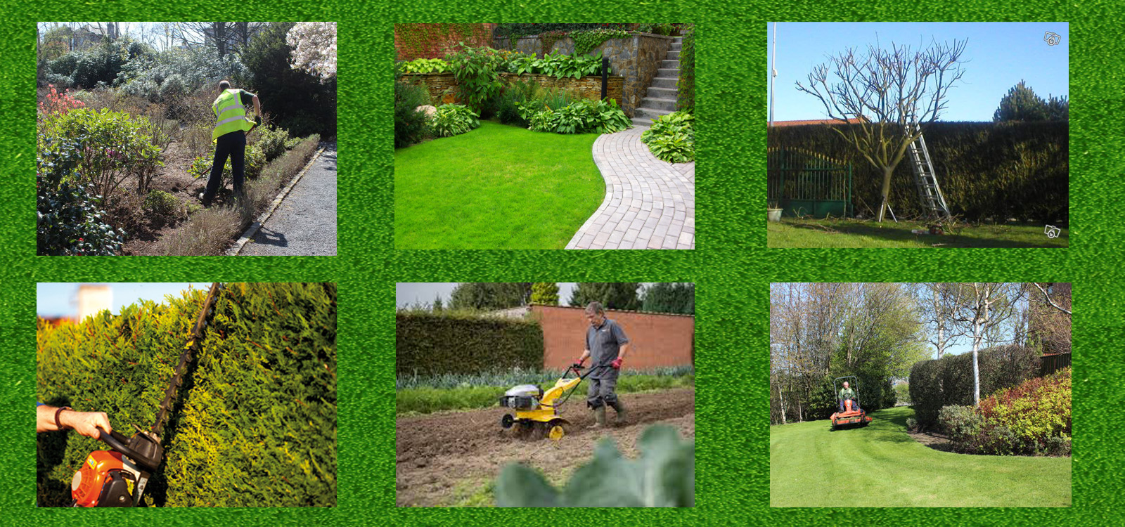 Entretien d espaces verts et jardins jardinage lille for Entretien des jardins et espaces verts